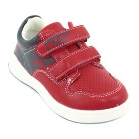 Buty Sportowe na rzepy American Club GC18 czerwone granatowe 1