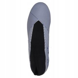 Buty piłkarskie adidas Nemeziz 19.3 Ll Fg M EG7248 białe białe 1