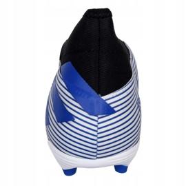 Buty piłkarskie adidas Nemeziz 19.3 Ll Fg M EG7248 białe białe 2