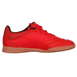 Buty halowe adidas Copa 20.3 In Sala Jr EF1915 czerwone czerwone 1
