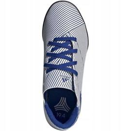 Buty piłkarskie adidas Nemeziz 19.4 Tf Jr FV3313 niebieskie wielokolorowe 1
