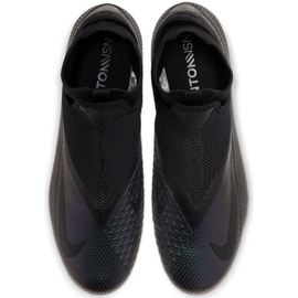 Buty piłkarskie Nike Phantom Vsn 2 Pro Df Fg M CD4162-010 czarne czarne 1