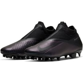 Buty piłkarskie Nike Phantom Vsn 2 Pro Df Fg M CD4162-010 czarne czarne 3