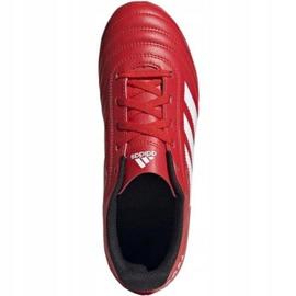 Buty piłkarskie adidas Copa 20.4 Fg Jr EF1919 czerwone czerwone 2