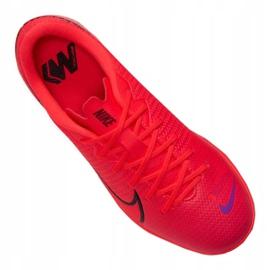 Buty Nike Vapor 13 Academy Ic Jr AT8137-606 czerwony czerwone 3
