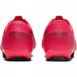 Buty piłkarskie Nike Mercurial Vapor 13 Academy FG/MG Jr AT8123-606 czerwone czerwone 4