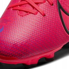Buty piłkarskie Nike Mercurial Vapor 13 Academy FG/MG Jr AT8123-606 czerwone czerwone 5