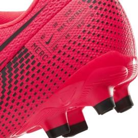 Buty piłkarskie Nike Mercurial Vapor 13 Academy FG/MG Jr AT8123-606 czerwone czerwone 6