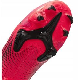 Buty piłkarskie Nike Mercurial Vapor 13 Academy FG/MG Jr AT8123-606 czerwone czerwone 7
