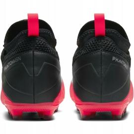 Buty piłkarskie Nike Phantom Vsn 2 Academy Df FG/MG Jr CD4059-606 wielokolorowe czerwone 6