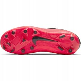Buty piłkarskie Nike Phantom Vsn 2 Academy Df FG/MG Jr CD4059-606 wielokolorowe czerwone 8