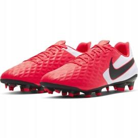 Buty piłkarskie Nike Tiempo Legend 8 Academy FG/MG M AT5292-606 czerwone czerwone 3