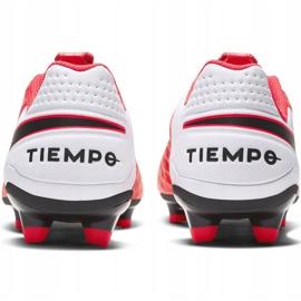 Buty piłkarskie Nike Tiempo Legend 8 Academy FG/MG M AT5292-606 czerwone czerwone 4
