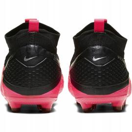 Buty piłkarskie Nike Phantom Vsn 2 Elite Df FG/MG Jr CD4062-606 czerwone czerwone 4