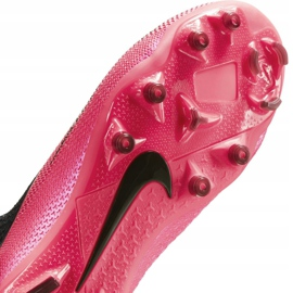 Buty piłkarskie Nike Phantom Vsn 2 Elite Df FG/MG Jr CD4062-606 czerwone czerwone 7