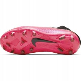 Buty piłkarskie Nike Phantom Vsn 2 Elite Df FG/MG Jr CD4062-606 czerwone czerwone 8