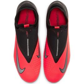 Buty piłkarskie Nike Phantom Vsn 2 Pro Df Fg M CD4162-606 czerwone czerwone 1