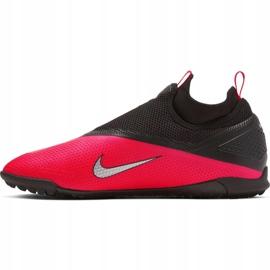 Buty piłkarskie Nike React Phantom Vsn 2 Pro Df Tf M CD4174-606 czerwone czerwone 2