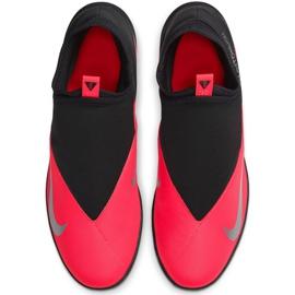 Buty piłkarskie Nike Phantom Vsn 2 Club Df Tf M CD4173-606 czerwone czerwone 1