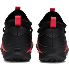 Buty piłkarskie Nike Phantom Vsn 2 Club Df Tf Jr CD4079-606 czerwone czerwone 4
