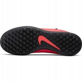 Buty piłkarskie Nike Phantom Vsn 2 Club Df Tf Jr CD4079-606 czerwone czerwone 5