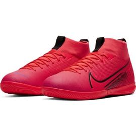 Buty halowe Nike Mercurial Superfly 7 Academy Ic Jr AT8135-606 czerwone czerwone 5