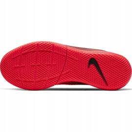 Buty halowe Nike Mercurial Superfly 7 Academy Ic Jr AT8135-606 czerwone czerwone 6