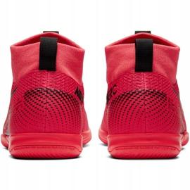 Buty halowe Nike Mercurial Superfly 7 Academy Ic Jr AT8135-606 czerwone czerwone 7