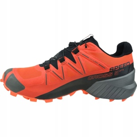 Buty Salomon Speedcross 5 Gtx M 407965 pomarańczowe 1
