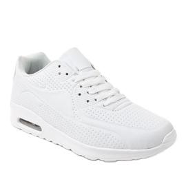 Białe męskie obuwie sportowe M014-3 1