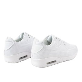 Białe męskie obuwie sportowe M014-3 2