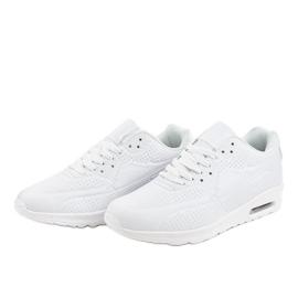 Białe męskie obuwie sportowe M014-3 3