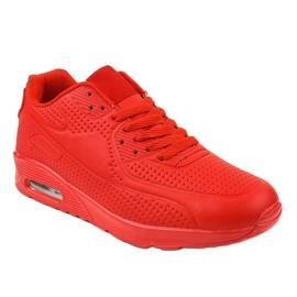 Czerwone męskie obuwie sportowe M014-5 1