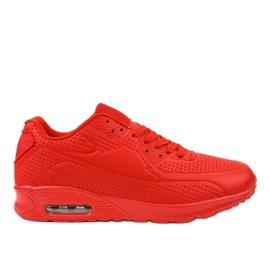 Czerwone męskie obuwie sportowe M014-5 2