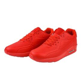 Czerwone męskie obuwie sportowe M014-5 3