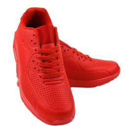 Czerwone męskie obuwie sportowe M014-5 4