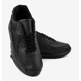 Czarne obuwie sportowe MN68-2 4