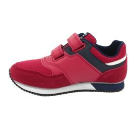 American Club Sportowe buty American czerwone RH20 2
