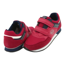 American Club Sportowe buty American czerwone RH20 4