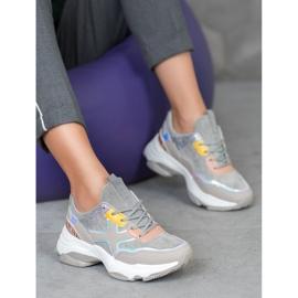 Marquiz Stylowe Sneakersy Na Platformie 4