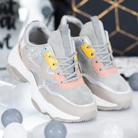 Marquiz Stylowe Sneakersy Na Platformie 3