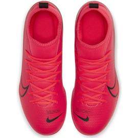 Buty piłkarskie Nike Mercurial Superfly 7 Club FG/MG Jr AT8150-606 czerwone czerwone 1