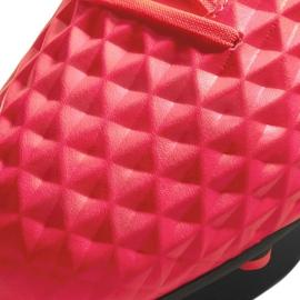 Buty piłkarskie Nike Tiempo Legend 8 Club FG/MG M AT6107-606 czerwone czerwone 4