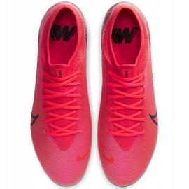 Buty piłkarskie Nike Mercurial Vapor 13 Pro Fg M AT7901-606 czerwone wielokolorowe 1