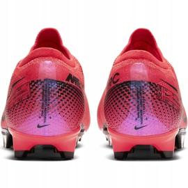 Buty piłkarskie Nike Mercurial Vapor 13 Pro Fg M AT7901-606 czerwone wielokolorowe 4