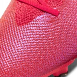 Buty piłkarskie Nike Mercurial Vapor 13 Pro Fg M AT7901-606 czerwone wielokolorowe 5