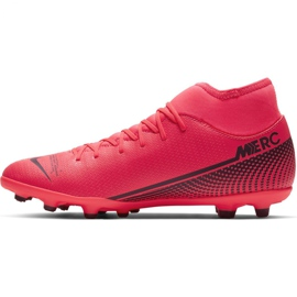 Buty piłkarskie Nike Mercurial Superfly 7 Club FG/MG M AT7949-606 czerwone czerwone 2