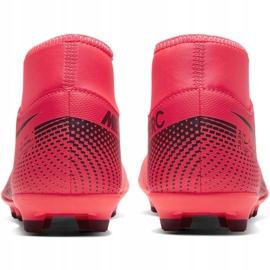 Buty piłkarskie Nike Mercurial Superfly 7 Club FG/MG M AT7949-606 czerwone czerwone 4