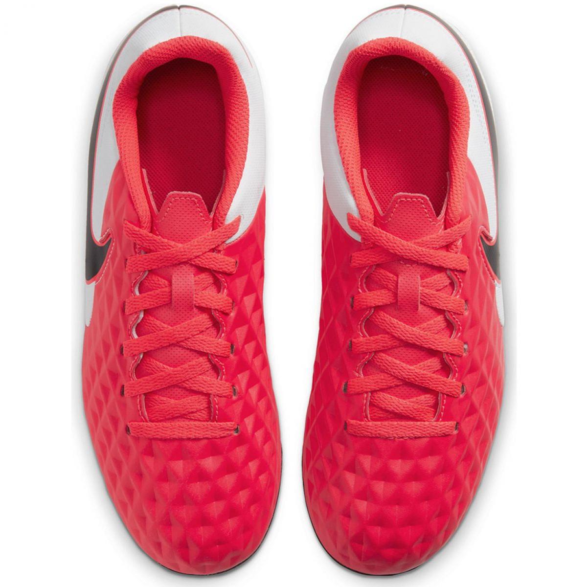 Buty Nike Legend 8 Pro AG Pro M AT6137 606 czerwone biały, czerwony