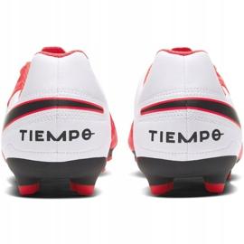 Buty piłkarskie Nike Tiempo Legend 8 Club FG/MG Jr AT5881-606 czerwone czerwone 4